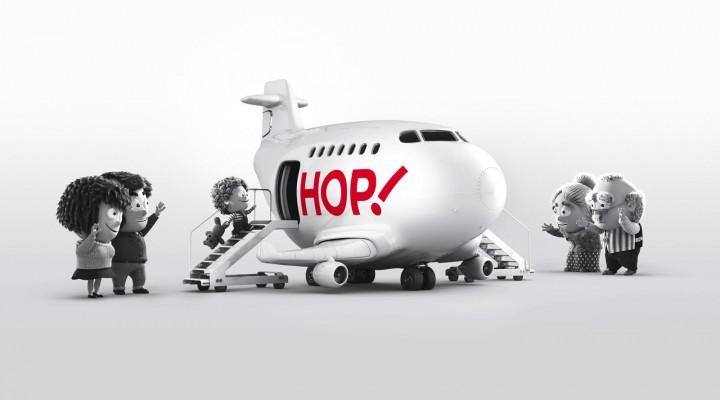 """""""HOP ! for Air France"""". La compagnie qu'on attendait."""