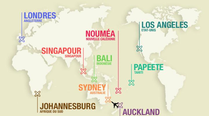 Et BedyCasa créa son Tour du Monde !