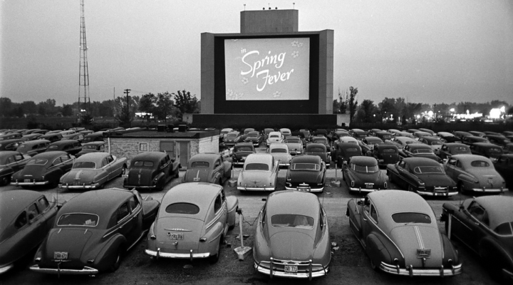 Cinema Paradiso, le Drive-in éphémère de Paris.