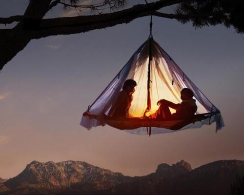 La version glam' du camping, c'est le Glamping !