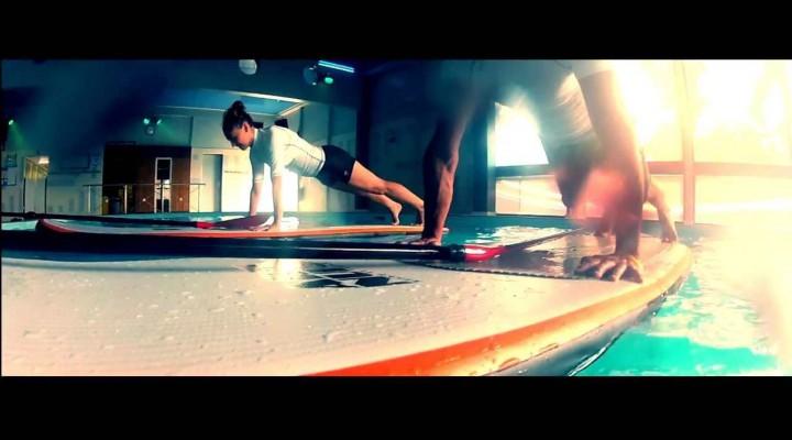 L'Aqua Stand Up, le nouveau sport qui vient d'Hawaï !