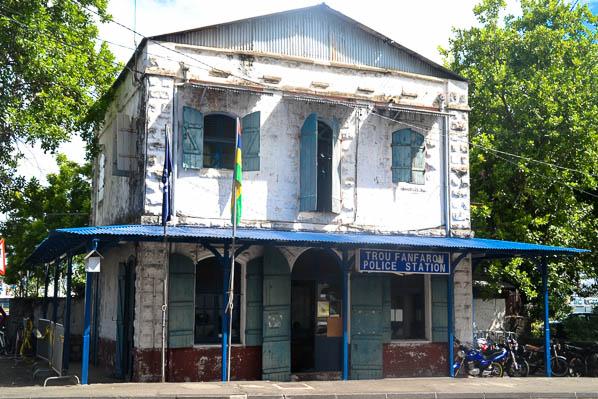 Le commissariat de Port-Louis