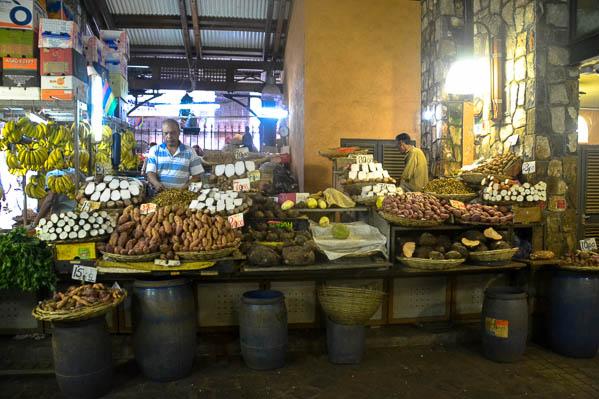 Marché couvert de Port-Louis