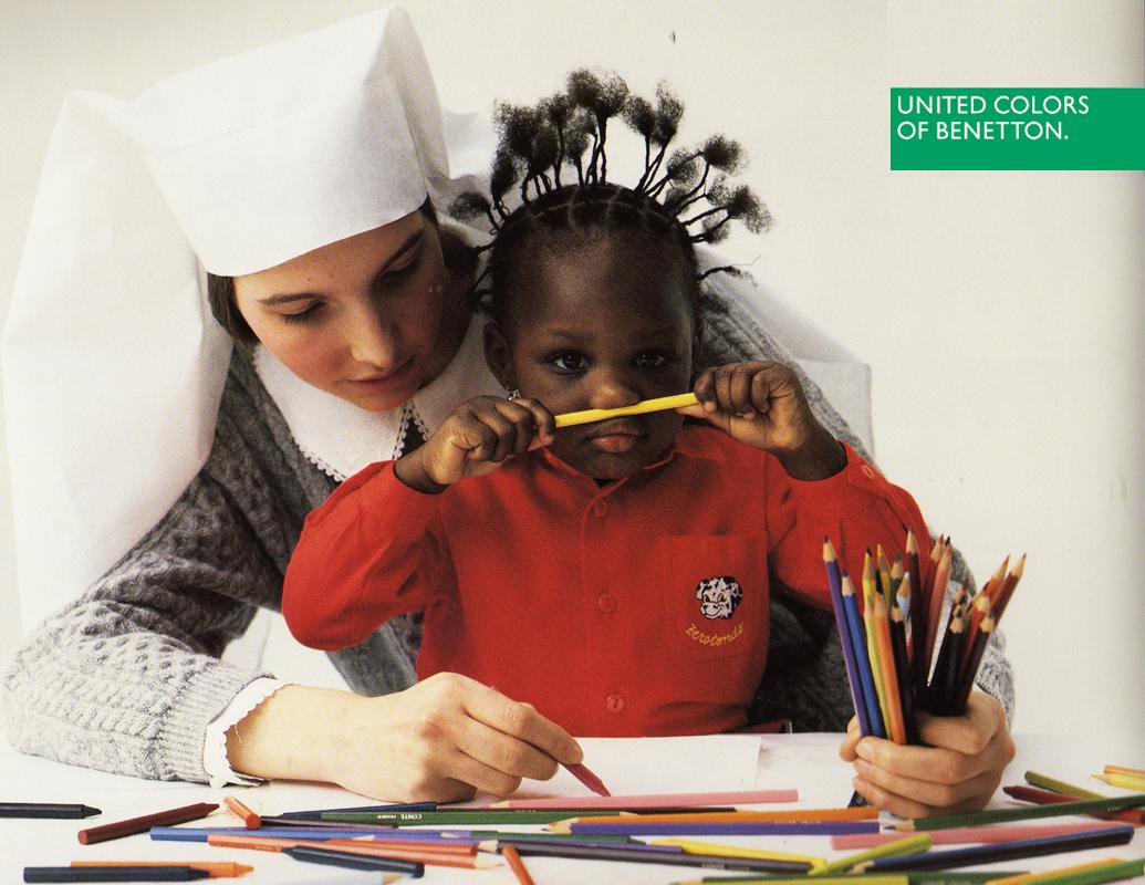 Benetton-1990-SoeurEnfant