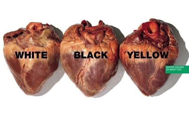 Égalité et tolérance. Les meilleures publicités de Benetton.