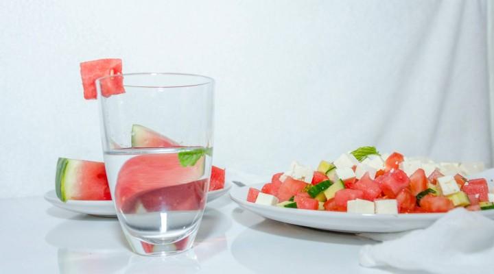 Recette d'été : salade Pastèque & Feta. Les papilles qui pétillent !