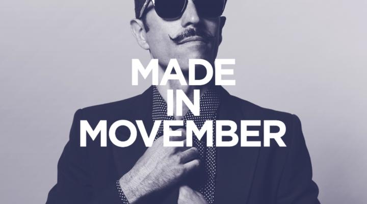 Movember France : quand les hommes du monde entier se laissent pousser la moustache.