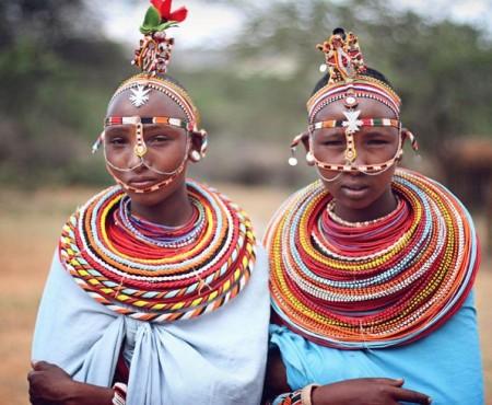 Tour d'horizon des plus belles parures des femmes Maasaï.