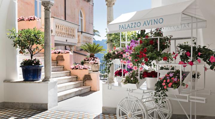 ITALIE : le Palazzo Avino, le luxe à l'italienne.