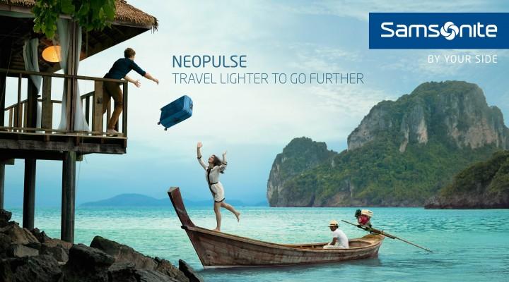 CONCOURS : remportez votre valise Samsonite Lite-Shock personnalisable