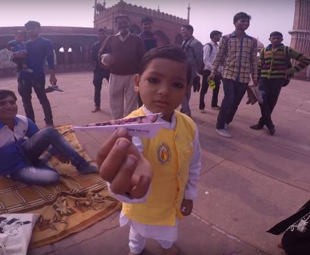 VIDÉO : évasion de 4 minutes en Inde