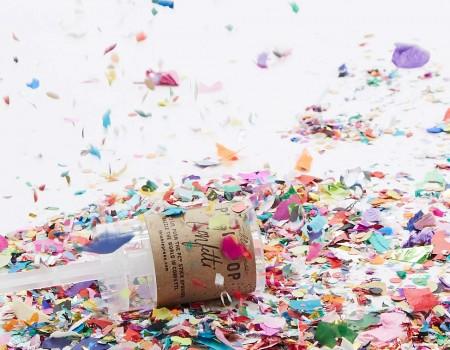 Lance confettis