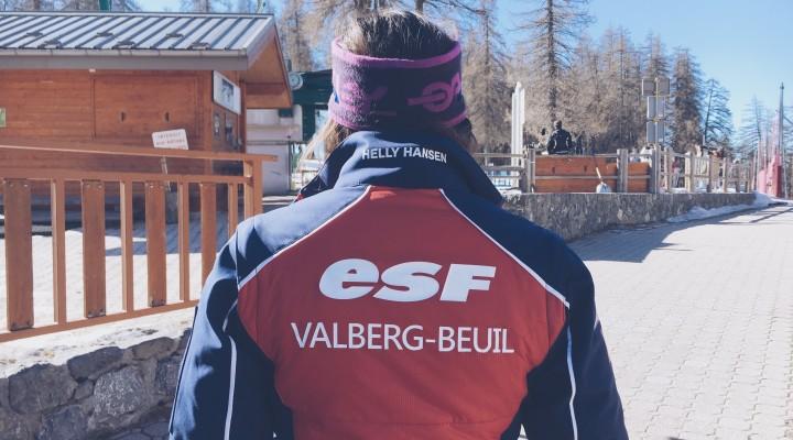 Rencontre : Valberg vu par Émilie, monitrice de ski ESF