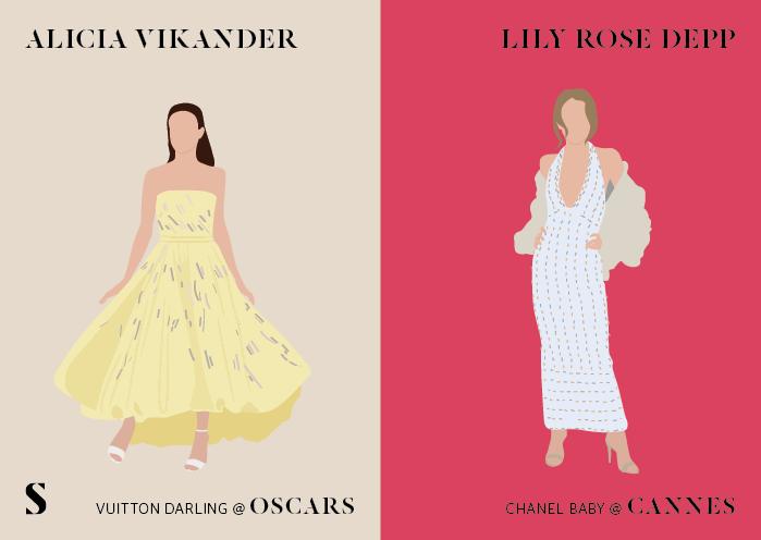 CannesVSoscar-le-retour-Stylight-Lily-rose-depp-Alicia-Vikander