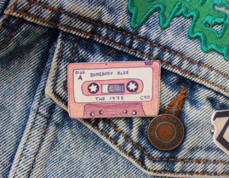 Pin's K7 vintage