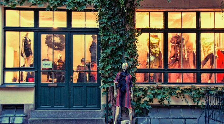 Fashion évasion dans les rues de Berlin