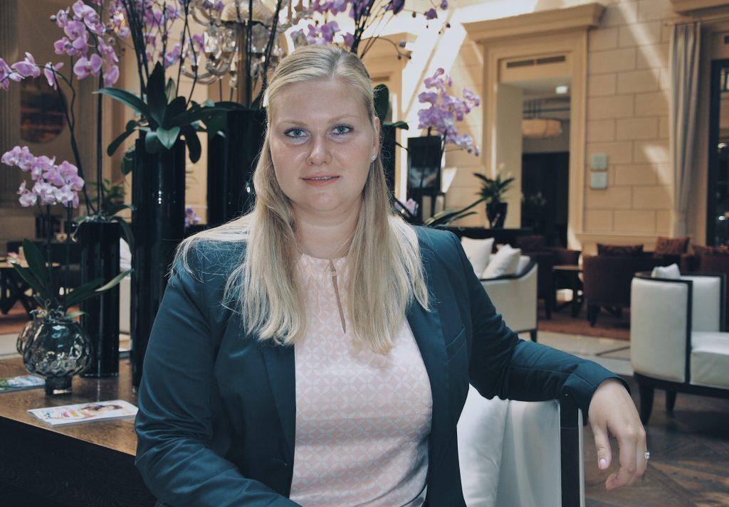 kempinski palais hansen vienna woman women employees femme hotellerie luxe hotels autriche