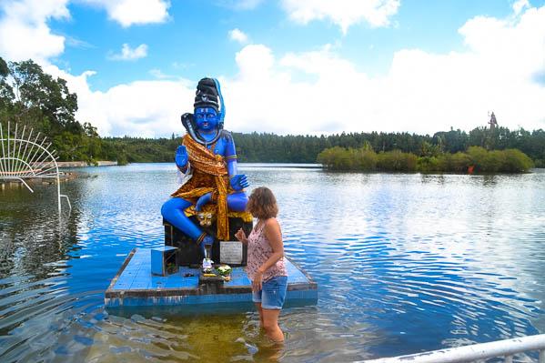 Petite balade dans le lac sacré