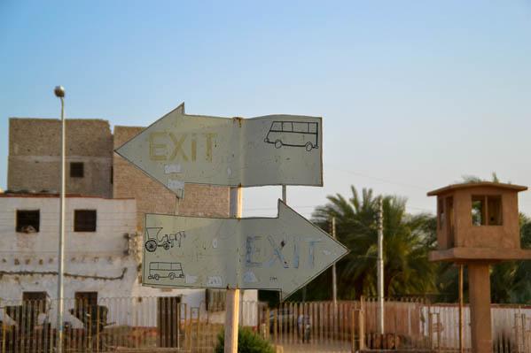 Les calèches et l'Égypte. Tout un programme !