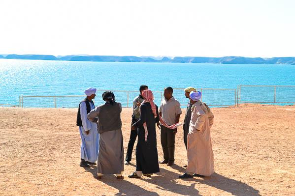 Réunion au sommet face au Lac Nasser