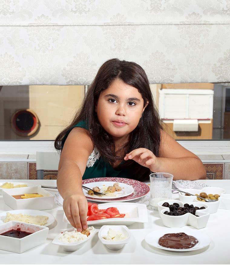 Oyku Ozarslan, 9 ans - Istanbul