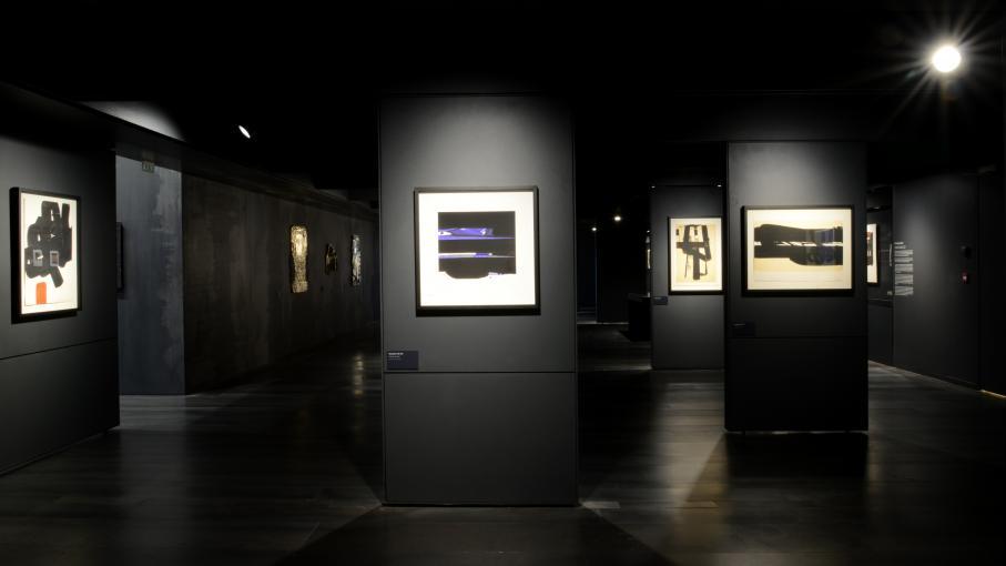 musee-soulages-peintures-noires