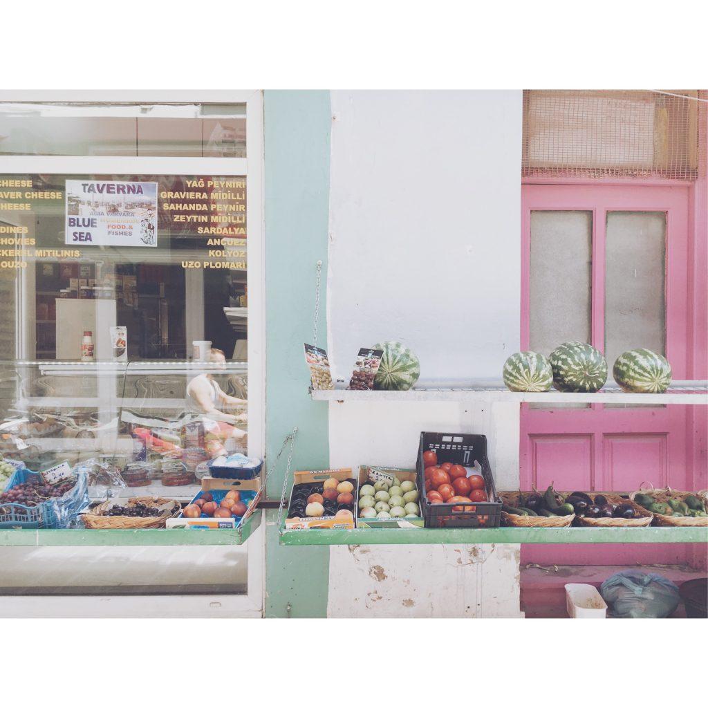 grece-lesvos-pasteque-fruit-marche-couleurs
