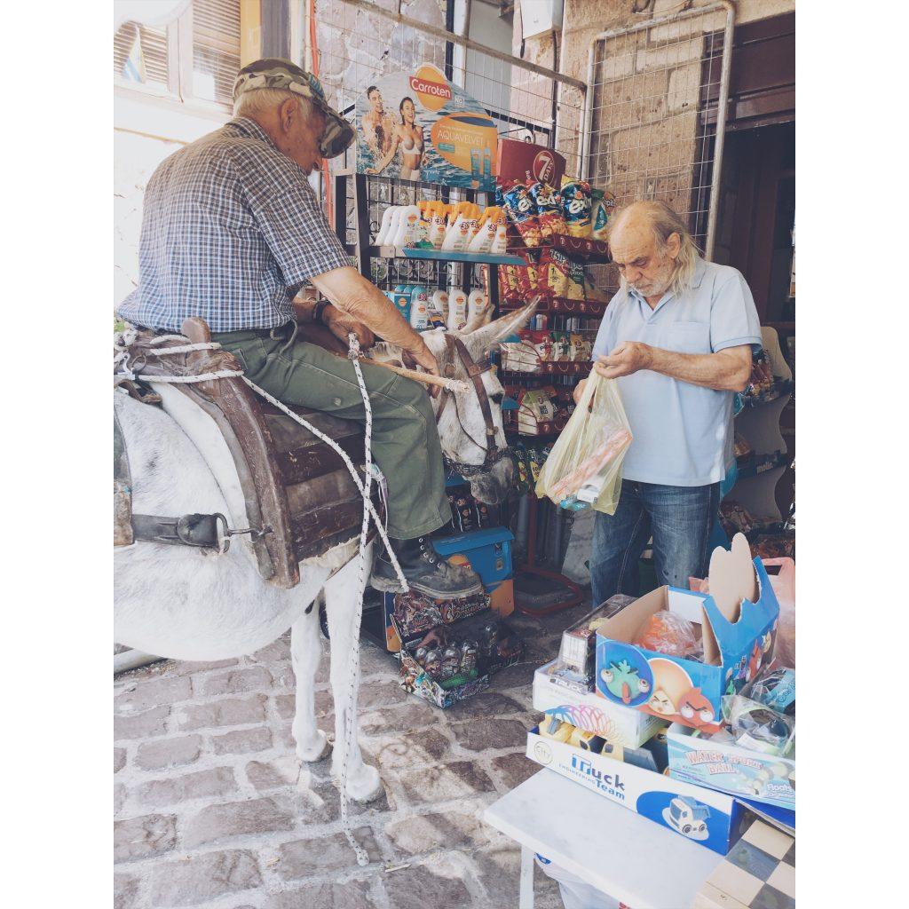 grece-lesvos-vieil-homme-ane-magasin